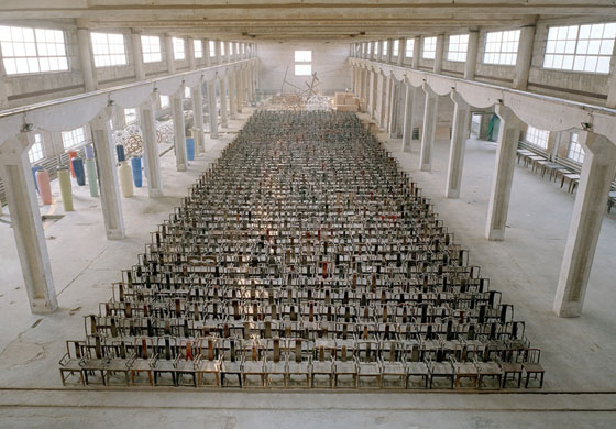 16 miles of string andrew russeth 1001 chairs for ai weiwei
